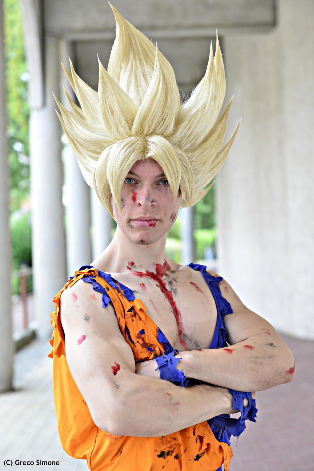 Goku Ssj Cosplay by Alexcloudsquall