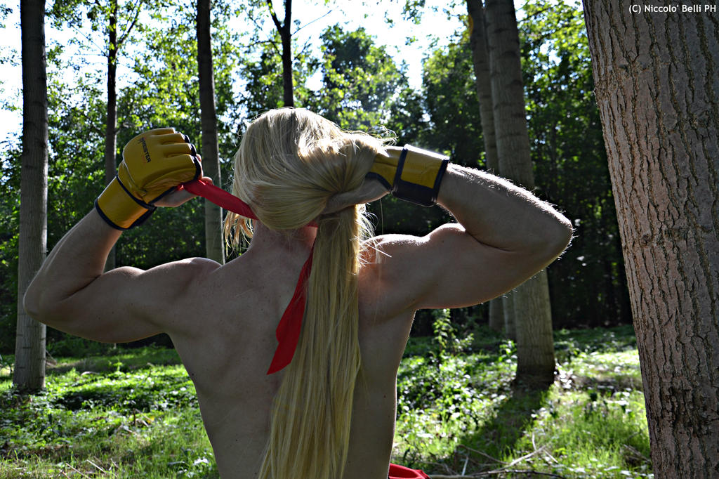 Ken Masters cosplay  .:I'm coming Ryu!:. by Alexcloudsquall