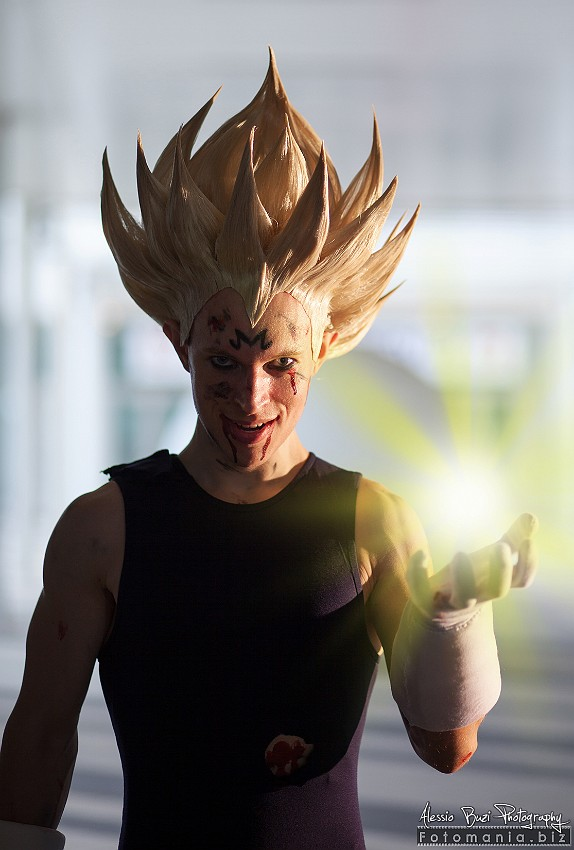 Majin Vegeta Cosplay by Alexcloudsquall