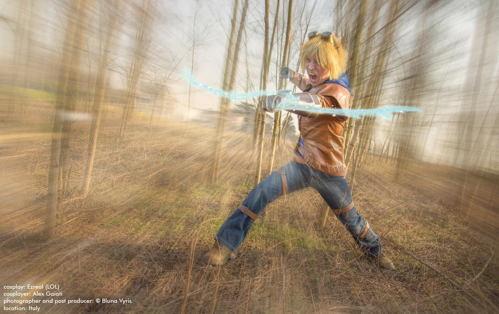 Ezreal Cosplay League of Legends by Alexcloudsquall