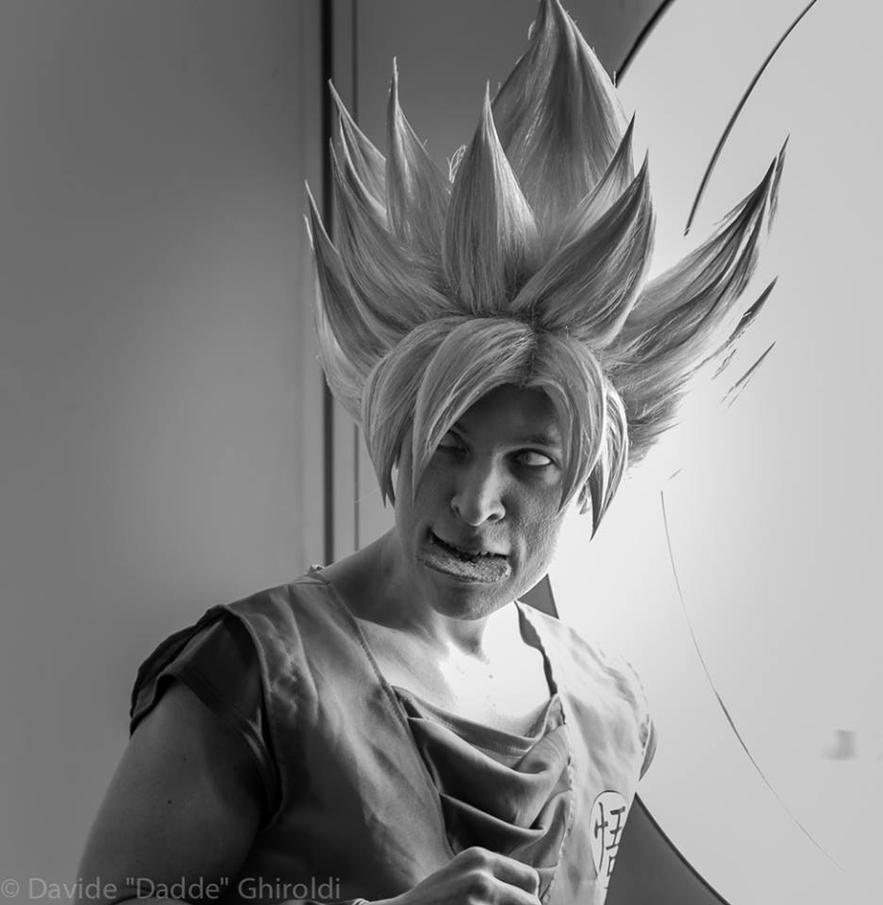 Goku and cookies by Alexcloudsquall