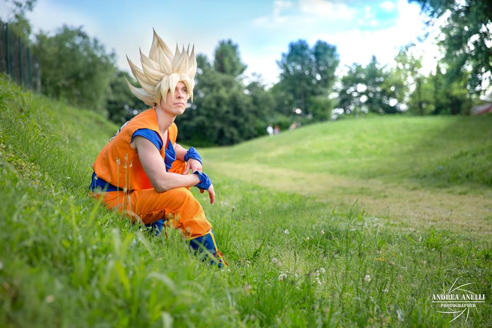 Goku ssj .:look at the orizon:. by Alexcloudsquall