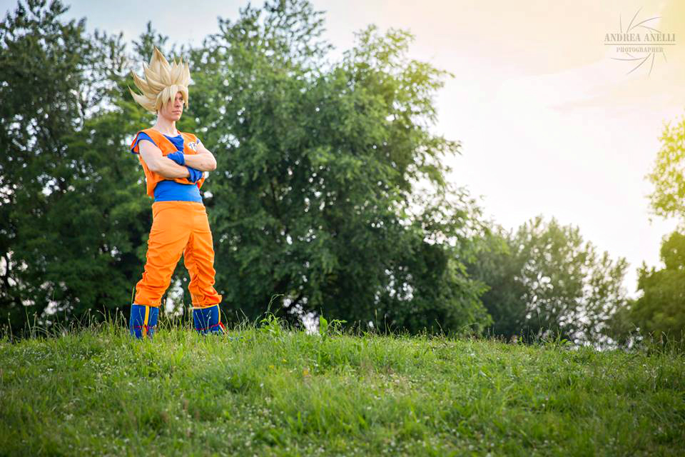 Goku Ssj .:look Gohan and Cell:. by Alexcloudsquall