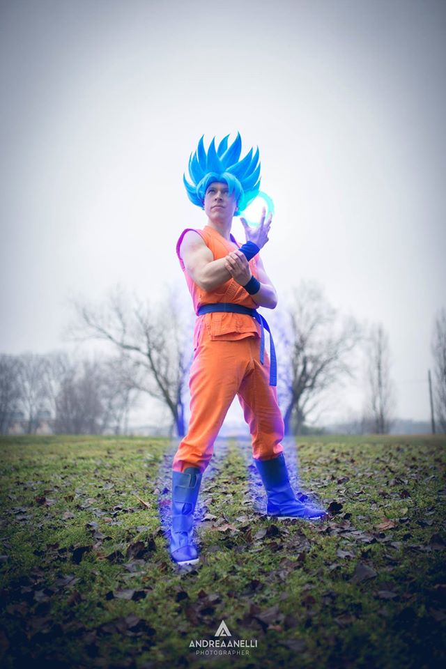 Goku SsjgodSsj by Alexcloudsquall