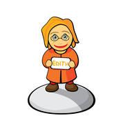 Edith Comic Character by sleeptimer