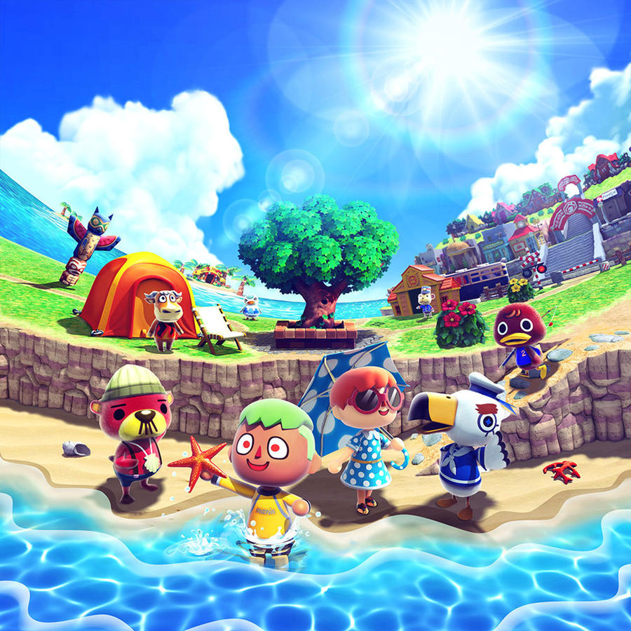 Animal Crossing New Leaf How To Take Net To Island