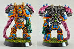 Tentacle Armed Chaos Space Marine