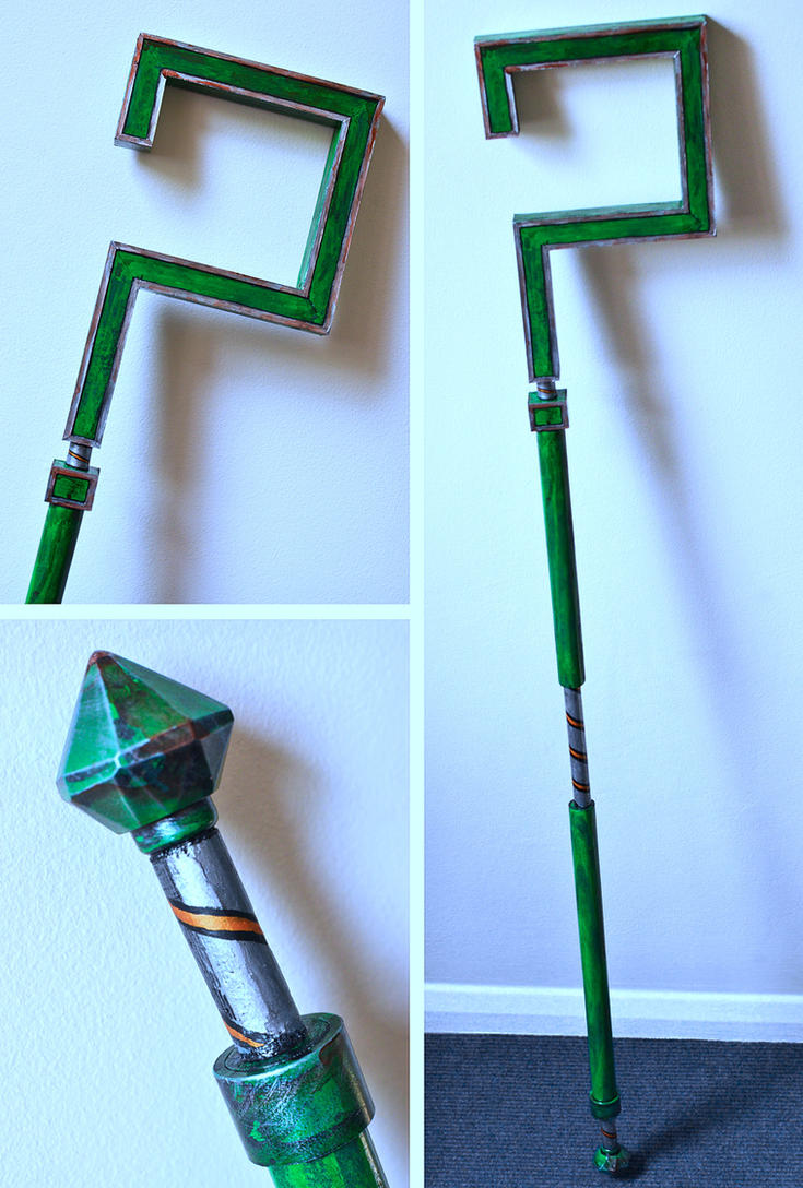 Cosplay Prop Riddler's Cane - Arkham City by Geemaa-pix