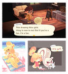 just a normal conversation in animal crossing