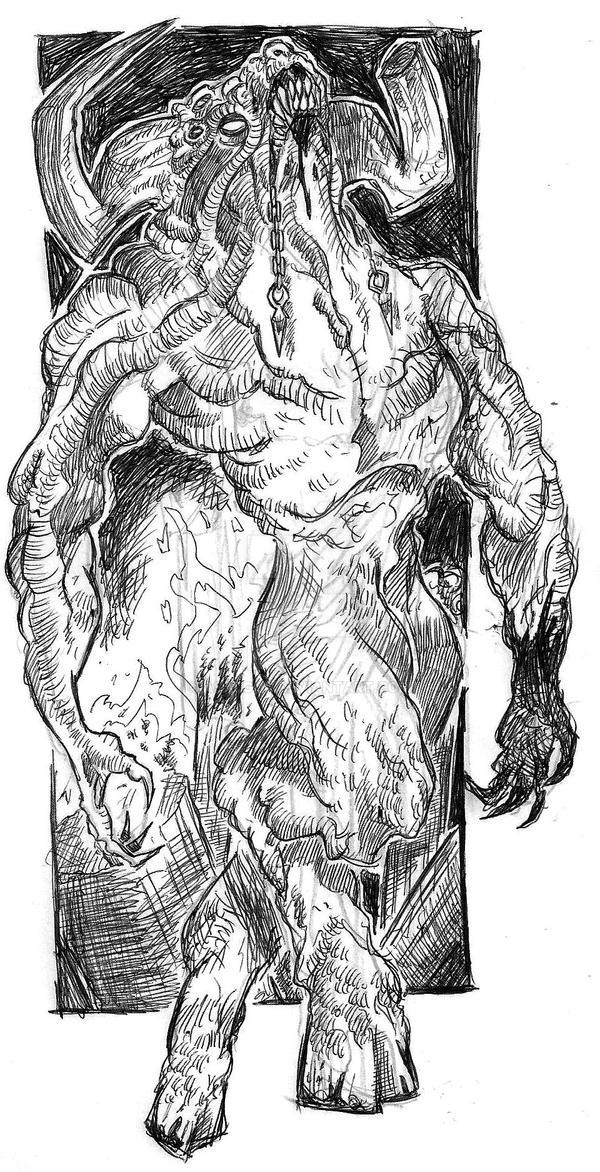 Minotaurus by Asalgor