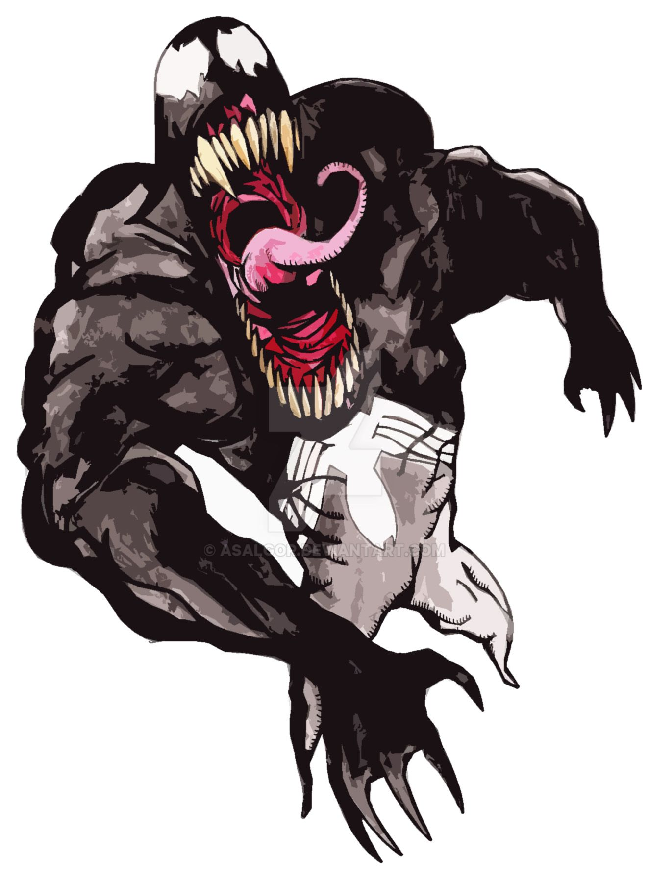 Venom by Asalgor