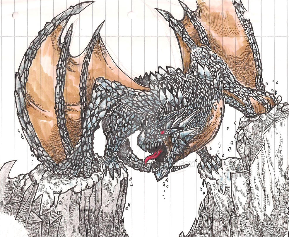 Frost Dragon by Asalgor