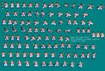 Veku Dragon Ball Z Fusion Sprite sheets
