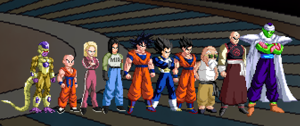 Dragon Ball Super Universe 7 Team by joeflizz