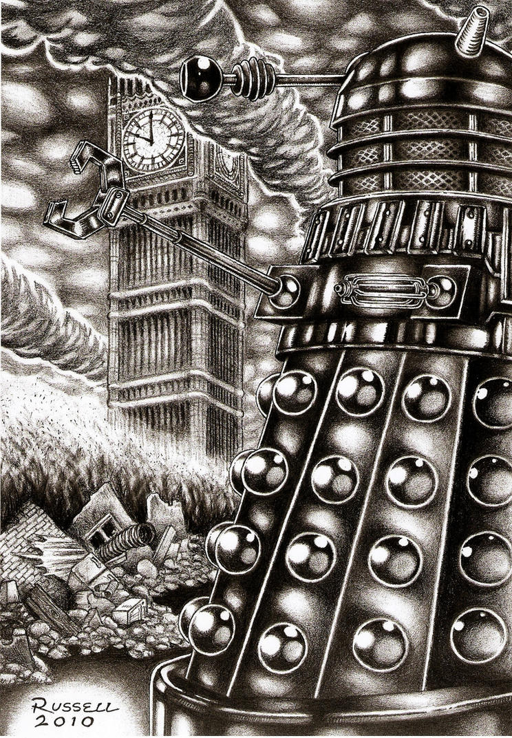 Doctor who dalek invasion by bungle0 on deviantart - Doctor who dalek pics ...