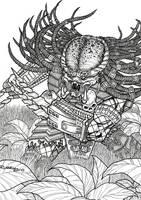 PREDATOR inks by Bungle0