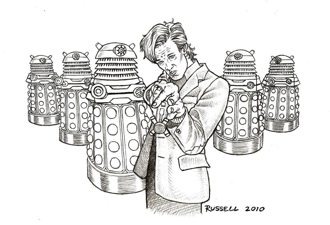 Doctor Who Vs The Daleks By Bungle0 On DeviantArt