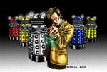 Dr Who Vs The Daleks-Coloured