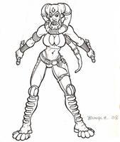Female Jedi Knight by Bungle0