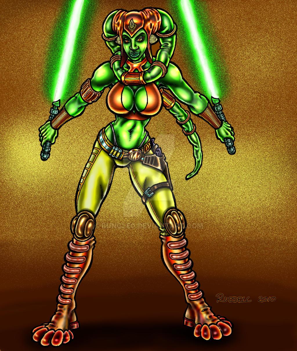 Steampunk Jedi by Bungle0