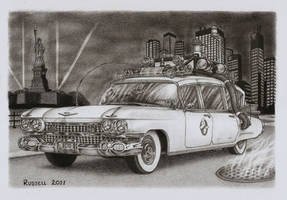 ECTO 1 by Bungle0