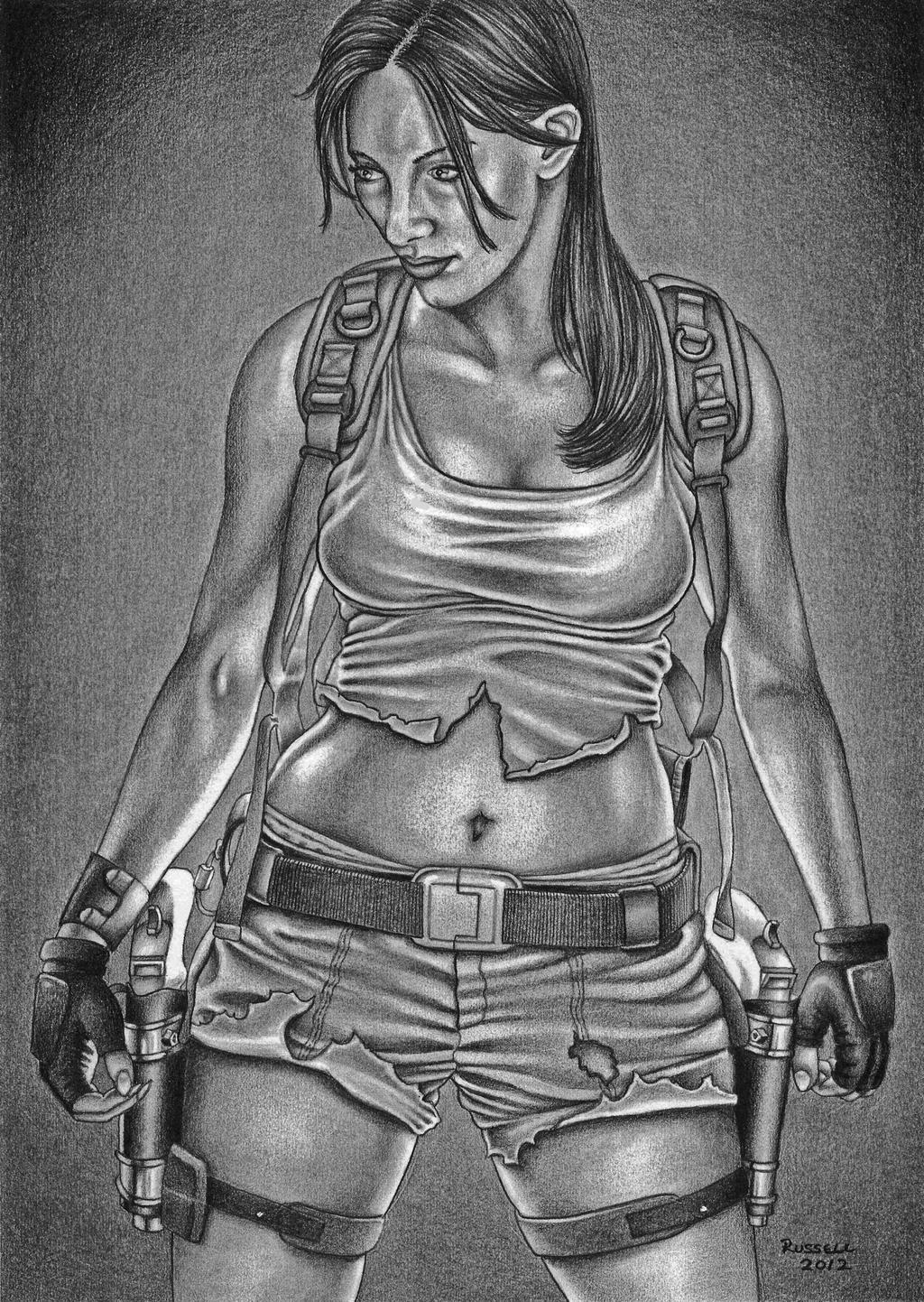 Ms. Croft by Bungle0