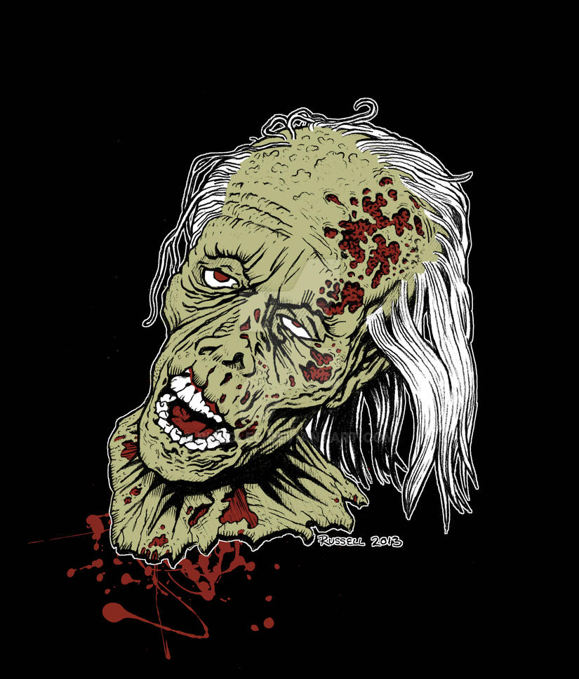 zombie print 2 by bungle0 - Zombie Pictures To Print