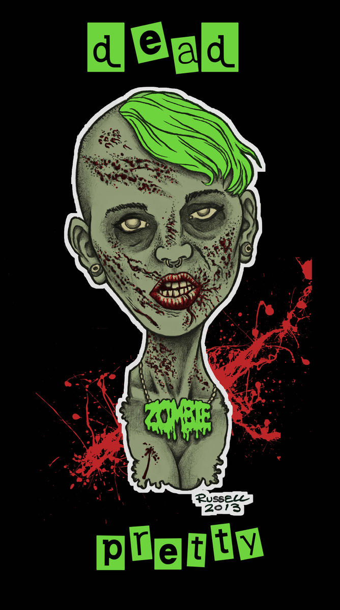 zombie print 4 by bungle0 - Zombie Pictures To Print