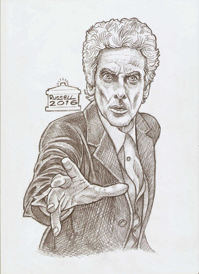 12th DOCTOR sketch by Bungle0