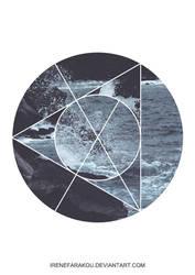 Sacred Earth- Rocks and Waves by IreneFarakou
