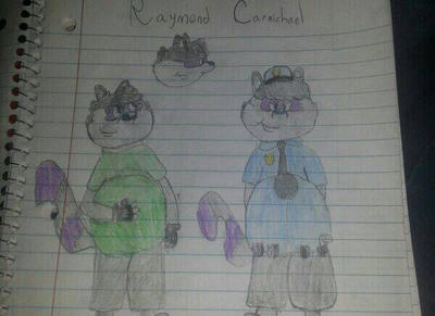 Ref of Raymond by cartoontake0ver