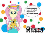 Children In Need 2018 Fluttershy's Announcement by equestriaguy637