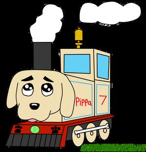 Pippa The Puppy Train