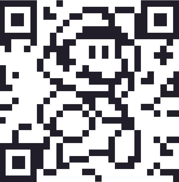 pixel art qr code