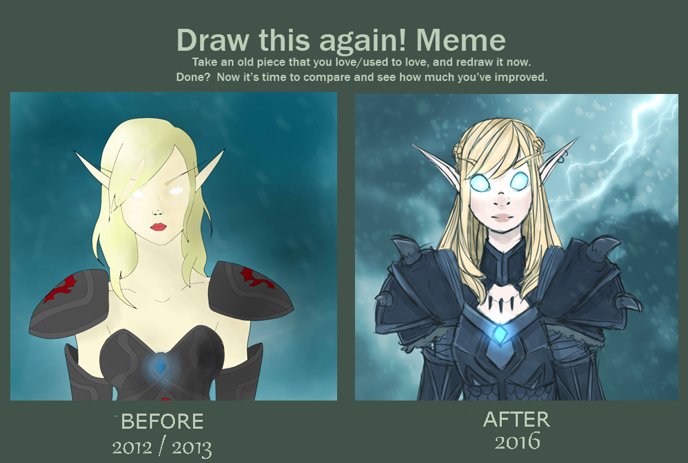 draw this again wow edition by Skune