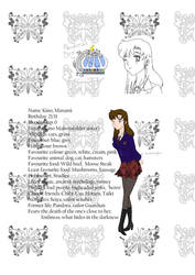 Kino Manami my Sailor Moon OC by M-RadioStation