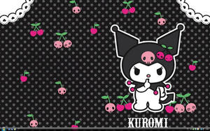 My Kuromi Wallpaper by MissLuluMuffin