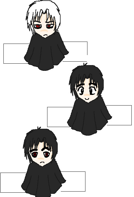 Volturi Finger Puppets by LetItBeRiceball