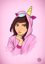 Chica Unicornio by demokxdm