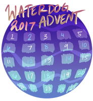 WATERDOG ADVENT CALENDAR 2017 by alfeddy