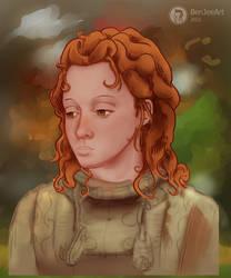 Redhead girl (WIP)