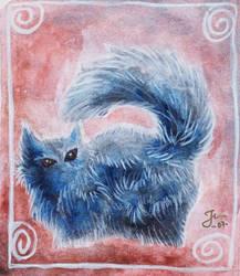 One weard cat by Jefrma