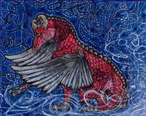 ArtTrade - Rosso the Dragon
