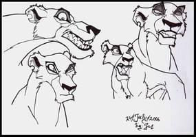 Lion King- Zira by Jefrma