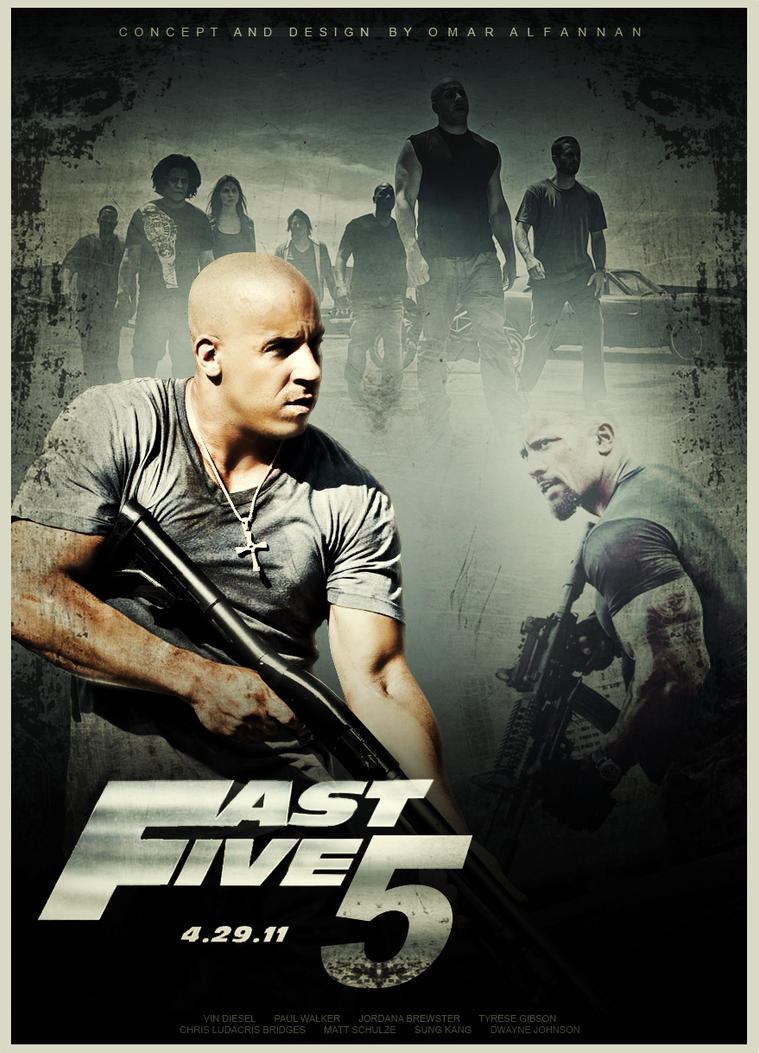 Fast and furious 5 movie poster