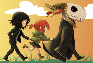 Mahoutsukai no Yome - follow you by SkeyeHunter