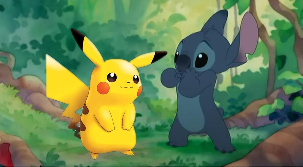 Pikachu and Stitch by AnimeGurrlcx on DeviantArt