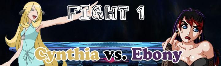 Super ORG Smash Bros 1- Fight 1- Cynthia vs. Ebony