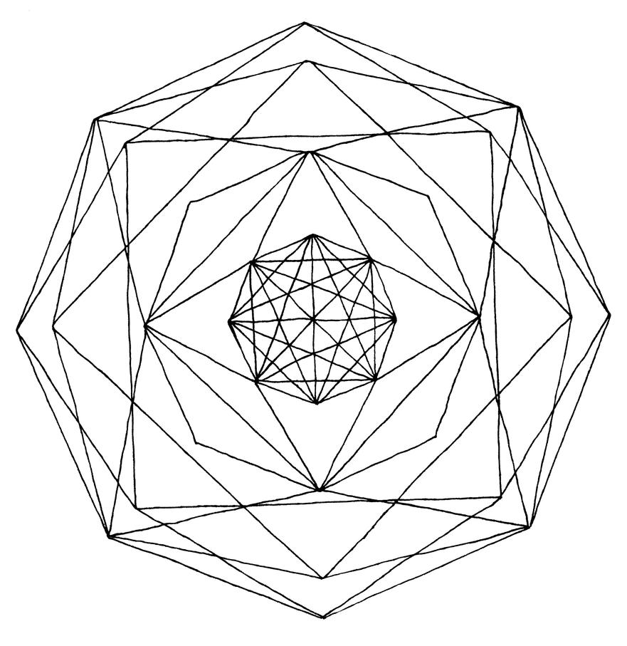 Line Art Design Geometry : Geometric by naomeri on deviantart