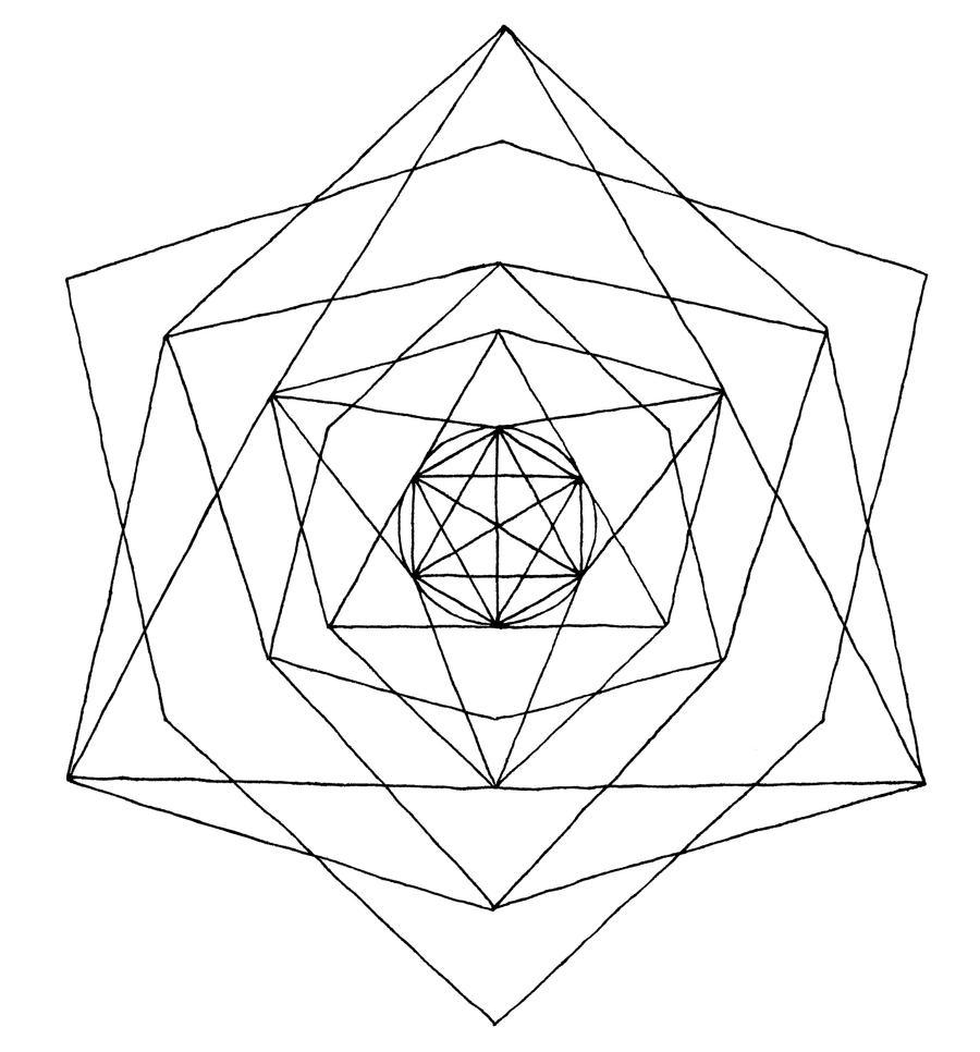 geometry line art - photo #8